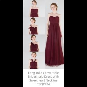Tulle & Chantilly Bridesmaids Dress